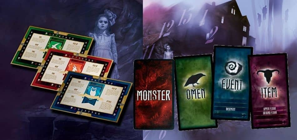 Betrayal Legacy Stat trackers and cards