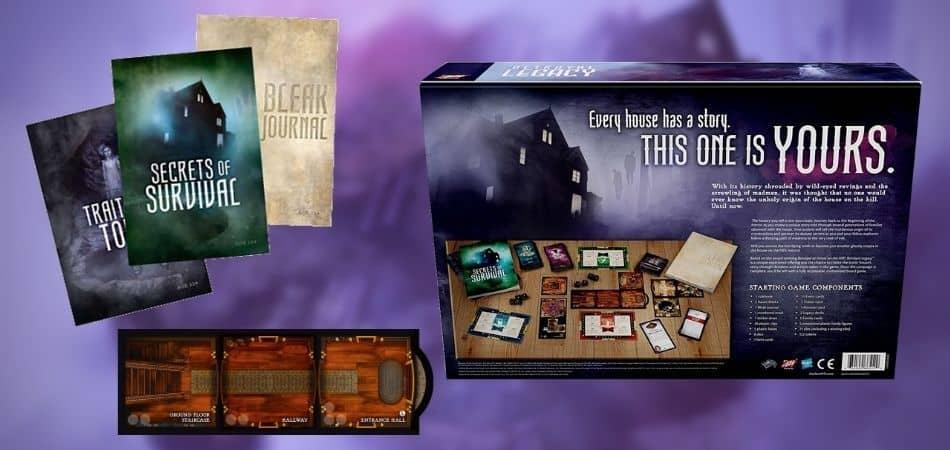 Betrayal Legacy Box and Books