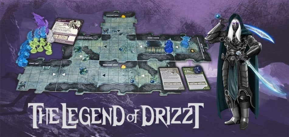 Legend of Drizzt game tiles