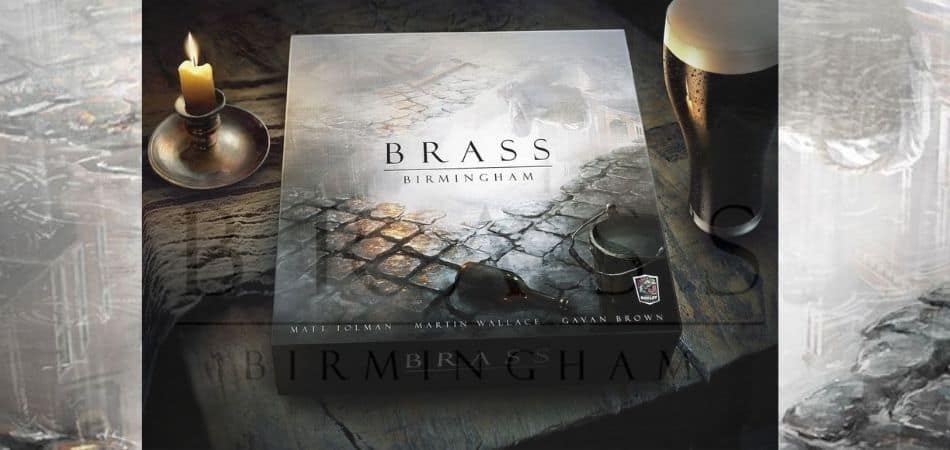 Braass Birmingham Board Game Art Promo