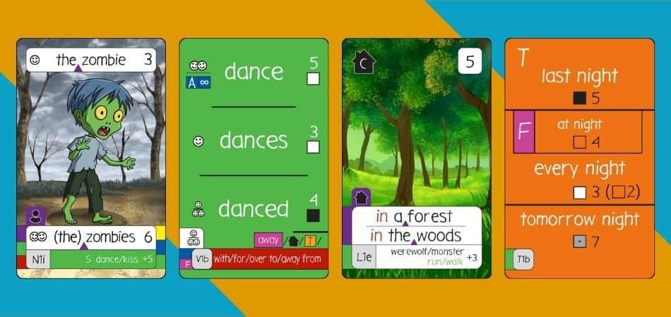 Mojo Cards, Sentence Example