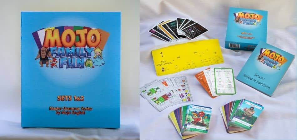 Mojo Card Game Sets 1-2 Box and cards