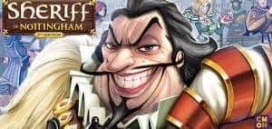 Sheriff of Nottingham Board game art