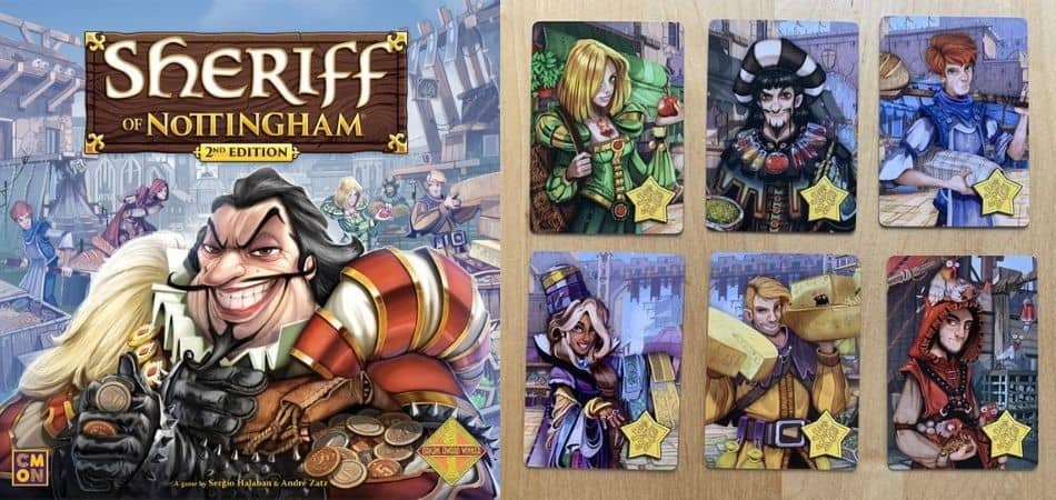 Sheriff of Nottingham Cards (Second Edition)