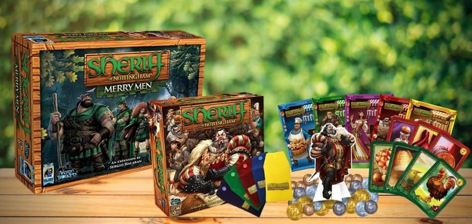 Sheriff of Nottingham (First Edition) and Merry Men Expansion