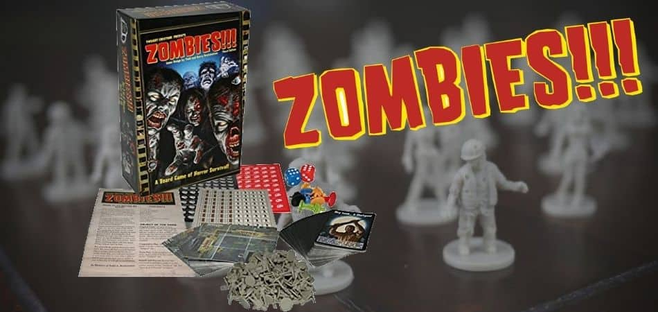 Zombies!!! Third Edition Box and Components