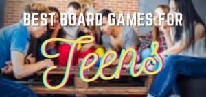 Best Board Games for Teens Header Image