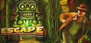 Escape: The Curse of the Temple Board Game Art
