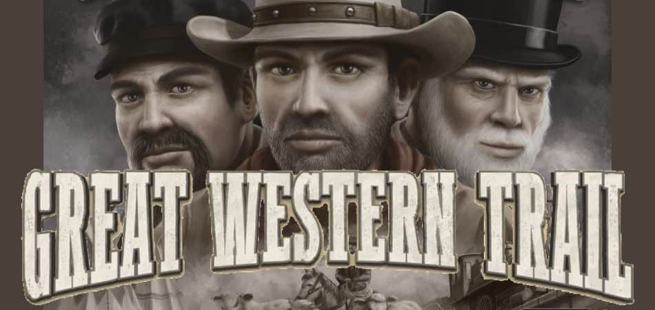 Great Western Trail board game art and logo