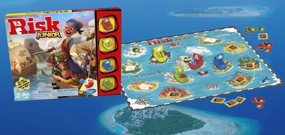 Risk Junior Board Game Box and Board