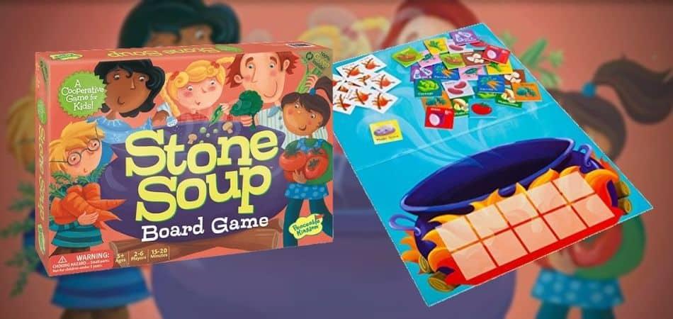 Stone Soup Board Game Box and Board
