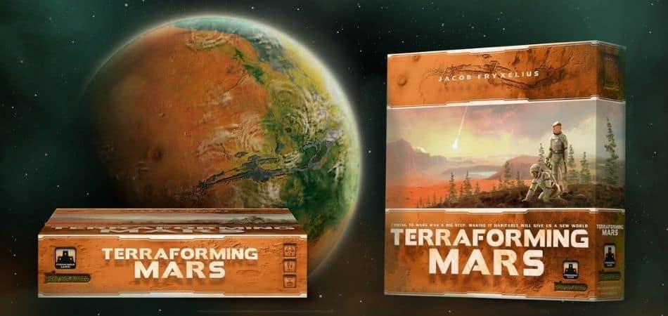 Terraforming Mars Board Game Box