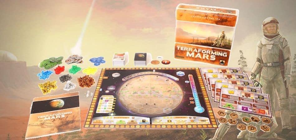 Terraforming Mars Board Game Components