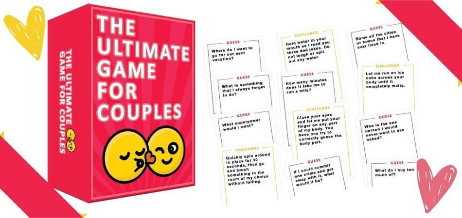 The Ultimate Game for Couples Box and Cards