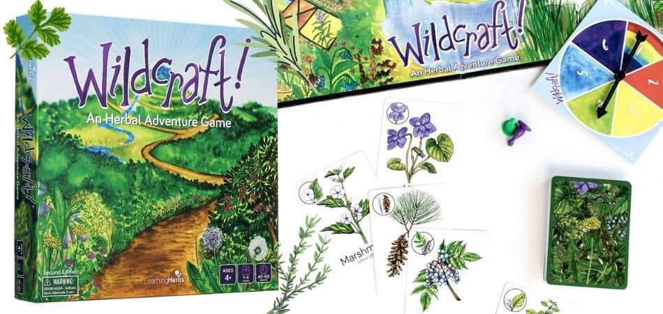 Wildcraft An Herbal Adventure Game Box and components