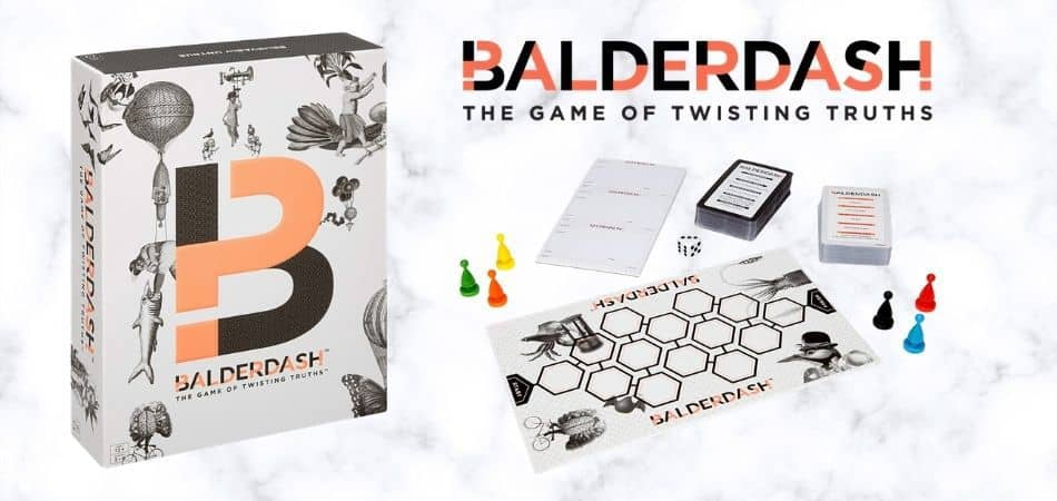 Balderdash Board Game Box and Components