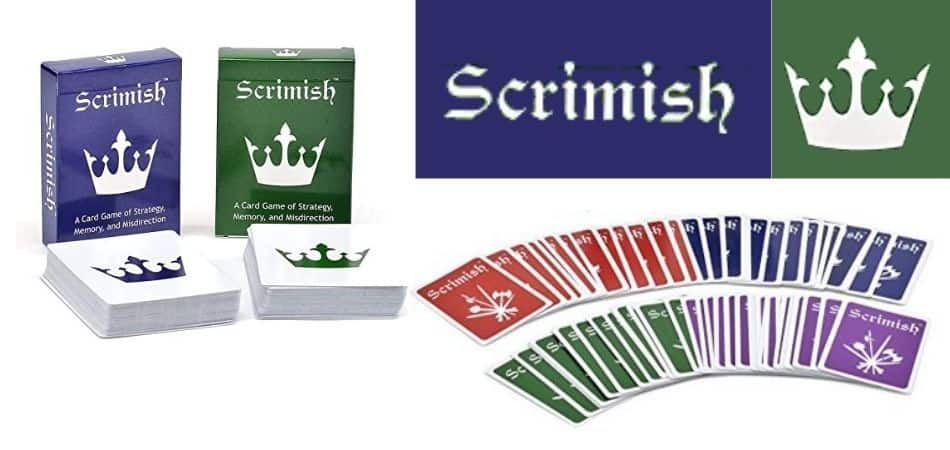 Scrimish Card Game Box and Cards