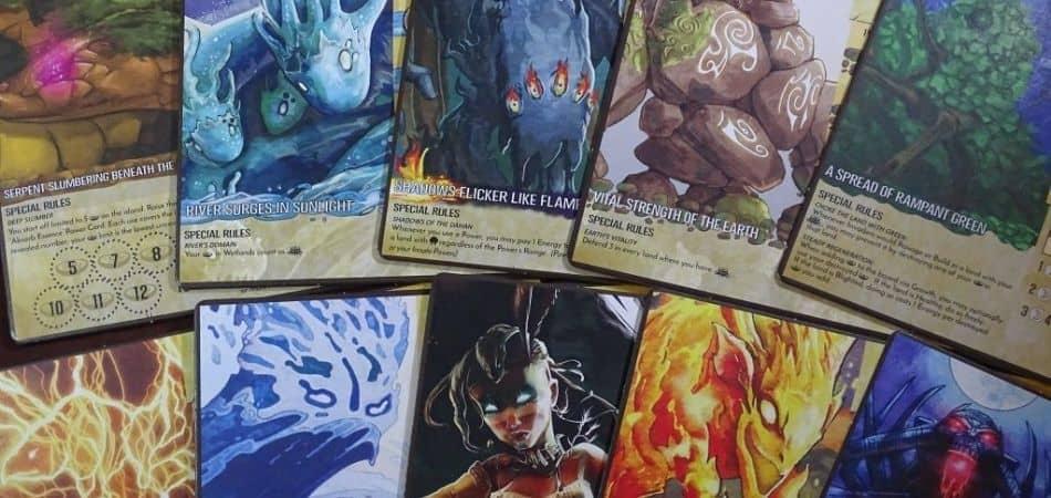 Spirit Island Board Game Cards