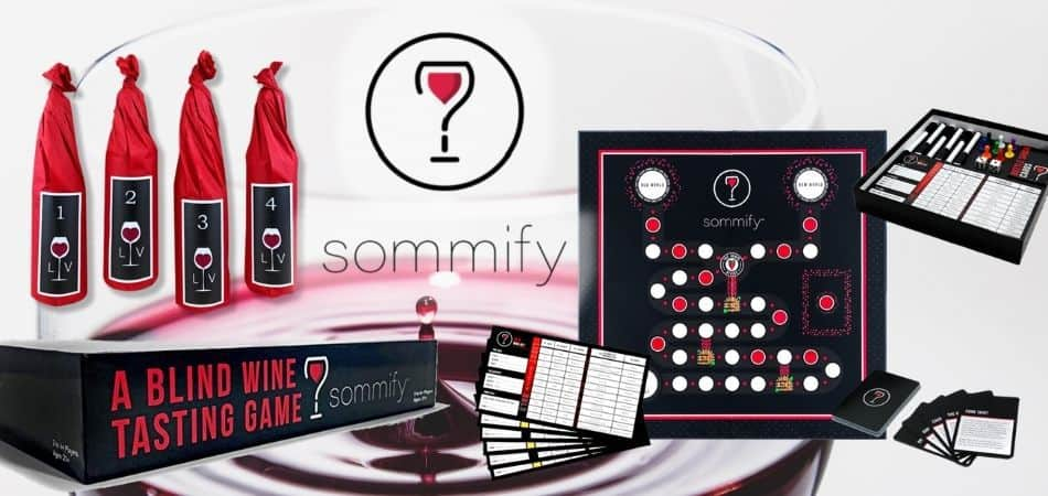 Sommify Board Game Box and Components