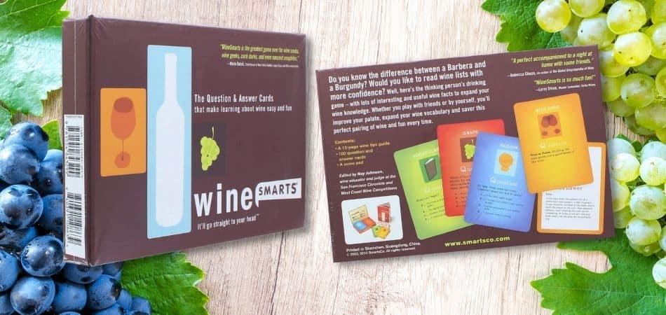 Wine Smarts Board Game Box