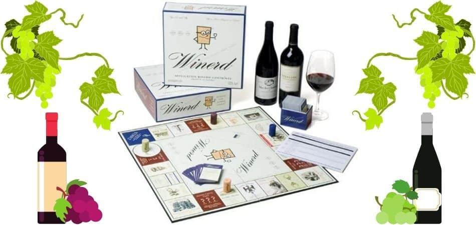 Winerd Board Game Box and Setup