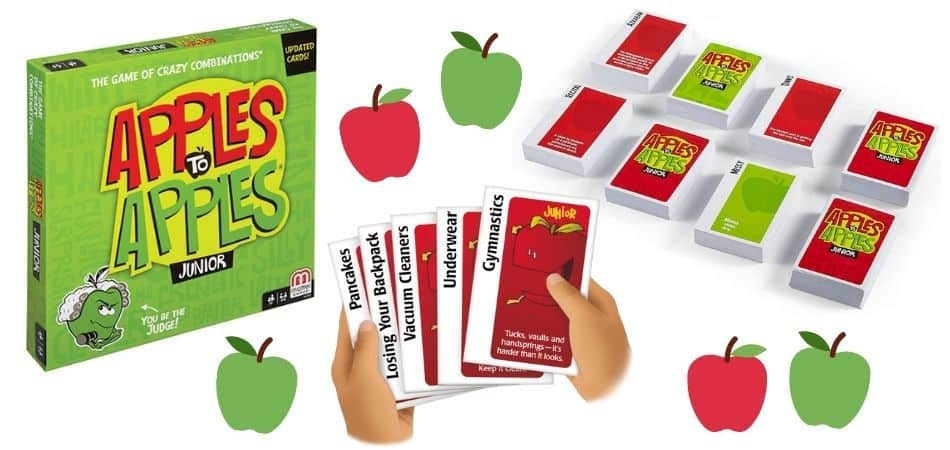 Apples to Apples Junior Board Game Box and Cards