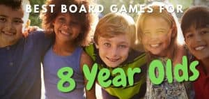 Best Board Games for 8-Year-Olds Featured Image