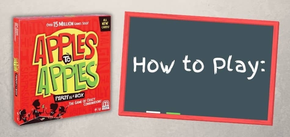 Apples to Apples Board Game Box