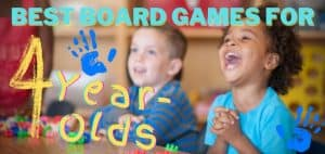 Best Board Games for 4-Year-Olds Featured Image