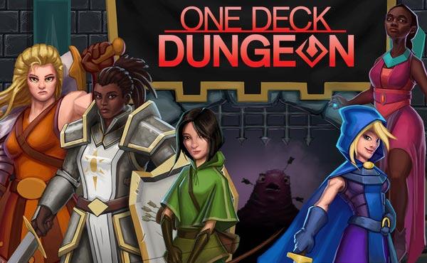 One Deck Dungeon Board Game Box Art