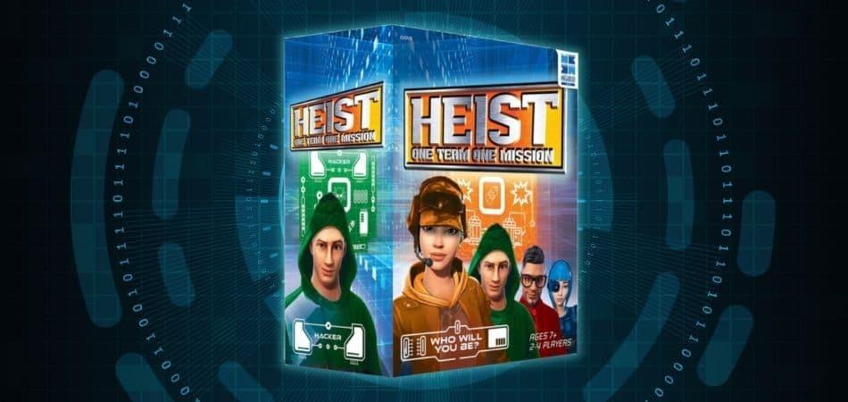 Heist: One Team, One Mission Board Game Box