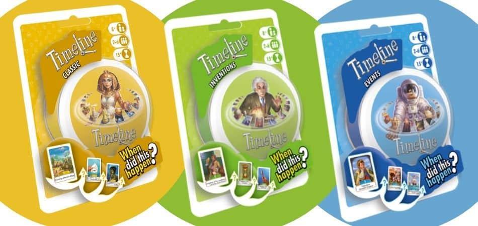 Timeline Trivia Board Games