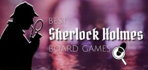 Best Sherlock Holmes Board Games Featured Image