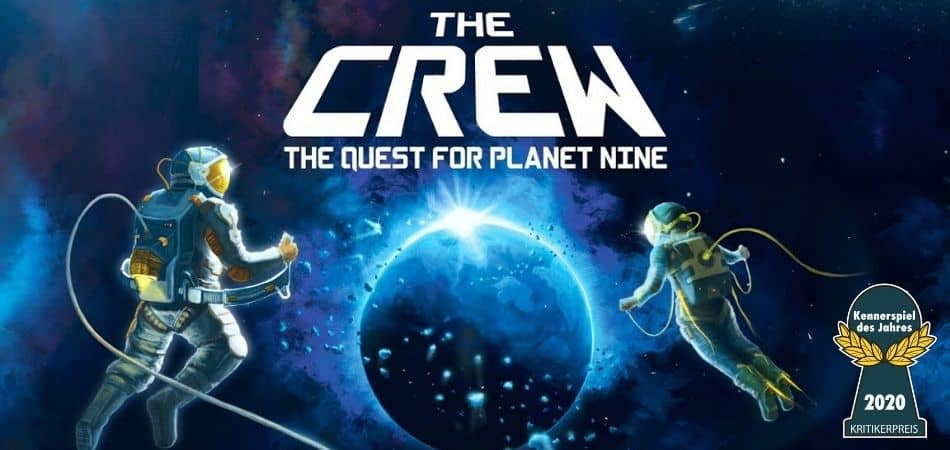 The Crew: The Quest for Planet Nine Board Game Art and Award