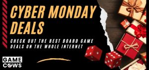 Best Cyber Monday Board Game Deals Featured Image Gifts Dice