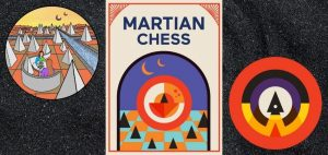 Martian Chess Board Game Box And Art