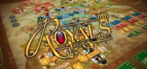 Royals Board Game Logo and Board Featured Image