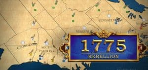 1775 Rebellion Board Game Featured Image