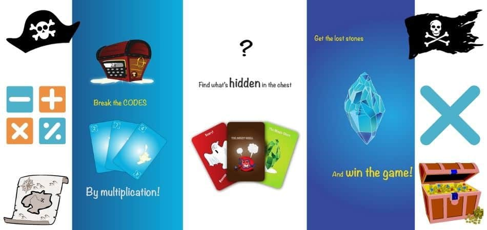 Codes: The Lost Island Card Game How to Play, Pirate Graphics
