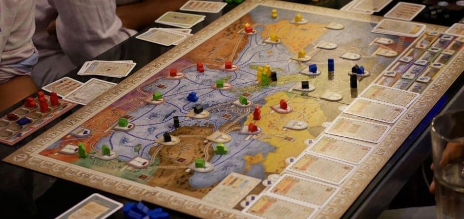 Concordia Board Game Setup