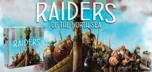 Raiders of the North Sea Board Game Box and Art
