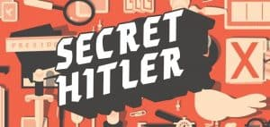 Secret Hitler Board Game Logo