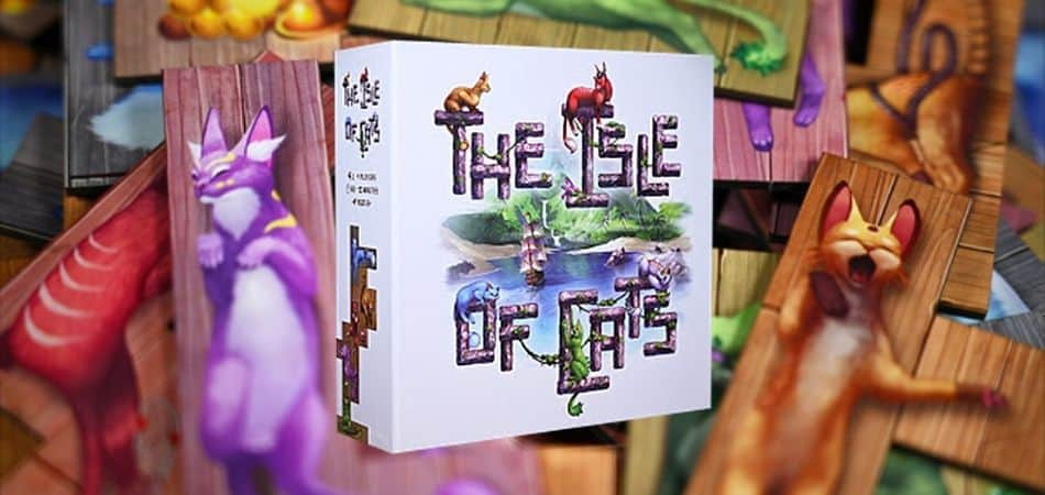 The Isle of Cats Board Game Box
